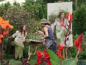 Artist Rose Frantzenb
